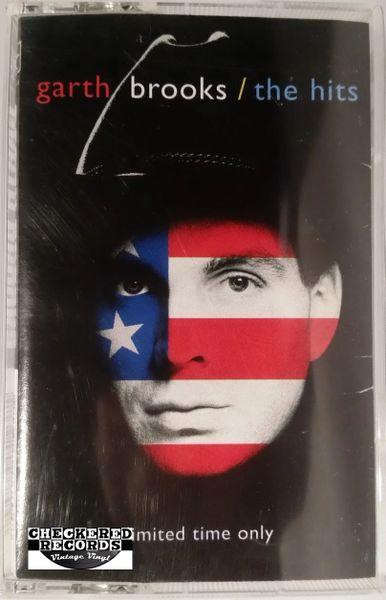 Vintage Garth Brooks The Hits 1994 US Liberty C4-29689 Cassette Tape