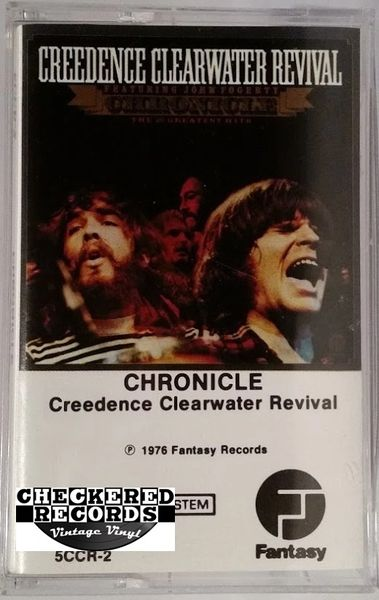 Vintage Creedence Clearwater Revival Chronicle (The 20 Greatest Hits) Club Edition 1991 US Fantasy 5CCR-2 Cassette Tape