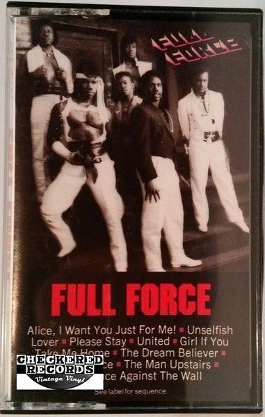 Vintage Full Force Full Force Self Titled 1985 US CBS BCT 40117 Cassette Tape