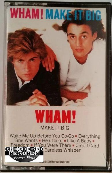 Vintage Wham! Make It Big 1984 US Columbia FCT 39595 Cassette Tape