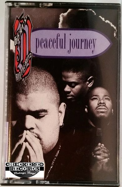Vintage Heavy D. & The Boyz Peaceful Journey 1991 US MCA Records MCAC-10289 Cassette Tape