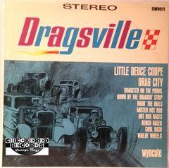 Vintage The Woofers Dragsville First Year Pressing 1964 US Wyncote SW-9011 Vintage Vinyl LP Record Album