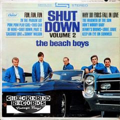 Vintage The Beach Boys Shut Down Volume 2 First Year Pressing 1964 US Capitol Records ST-2027 Vintage Vinyl LP Record Album