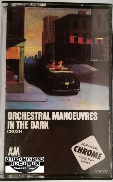 Vintage OMD Orchestral Manoeuvres In The Dark ‎Crush 1985 US A&M Records CS 5077 Cassette Tape