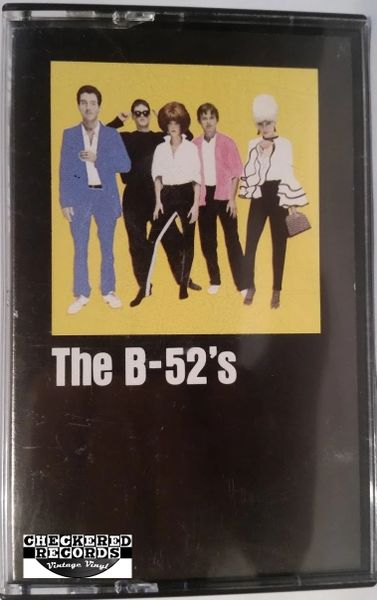 Vintage The B-52's The B-52's Self Titled 1979 US Warner Bros. Records ‎M5 3355 Cassette Tape