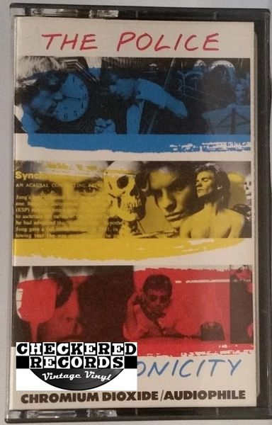 Vintage The Police Synchronicity 1983 US A&M Records ‎CS 3735 Cassette Tape