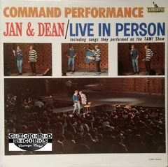 Vintage Jan & Dean Command Performance First Year Pressing 1965 US LRP-3403 Vintage Vinyl LP Record Album