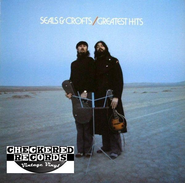 Vintage Seals & Crofts Greatest Hits First Year Pressing 1975 US Warner Bros. Records BS 2886 Vintage Vinyl LP Record Album