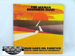 Vintage The Allman Brothers Band The Road Goes On Forever A Collection Of Their Greatest Hits First Year Pressing Capricorn 2CP 0164 1975 NM Vintage Vinyl LP Record Album