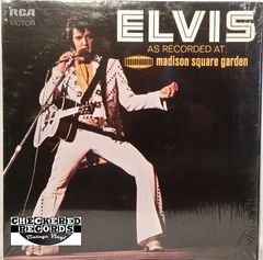 Vintage Elvis Presley ‎Elvis As Recorded At Madison Square Garden First Year Pressing 1972 US RCA Victor ‎LSP-4776 Vintage Vinyl LP Record Album