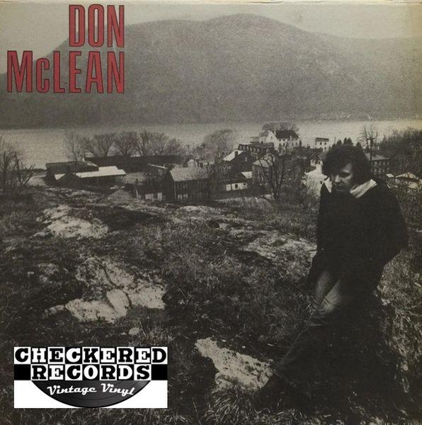 Vintage Don McLean Don McLean SEALED First Year Pressing 1972 US United Artists Records UAS-5651 Vintage Vinyl LP Record Album