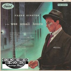 Vintage Frank Sinatra ‎In The Wee Small Hours 1962 US Capitol Records W 581 Vintage Vinyl LP Record Album