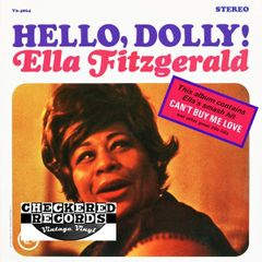 Vintage Ella Fitzgerald ‎Hello, Dolly! First Year Pressing 1964 US Verve Records ‎V6-4064 Vintage Vinyl LP Record Album