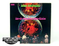 Vintage Iron Butterfly In-A-Gadda-Da-Vida First Year Pressing ATCO SD 33-250 1968 NM- Vintage Vinyl LP Record Album