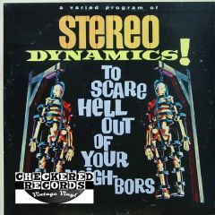 Vintage Stereo Dynamics! To Scare Hell Out Of Your Neighbors First Year Pressing 1962 US Somerset ‎SF-11400 Vintage Vinyl LP Record Album