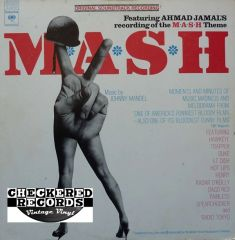 Vintage Johnny Mandel MASH Original Soundtrack Recording First Year Pressing 1973 US Columbia Masterworks ‎S 32753 Vintage Vinyl LP Record Album