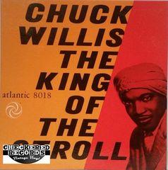 Vintage Chuck Willis King Of The Stroll 1962 US Atlantic 8018 Vintage Vinyl LP Record Album