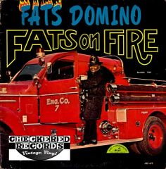 Vintage Fats Domino ‎Fats On Fire Mono First Year Pressing 1964 US ABC-Paramount ABC-479 Vintage Vinyl LP Record Album