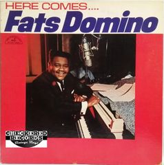 Vintage Fats Domino ‎Here Comes Fats Domino First Year Pressing 1963 US ABC-Paramount ABC 455 Vintage Vinyl LP Record Album