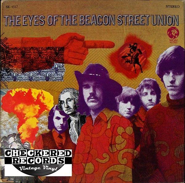 Vintage Beacon Street Union The Eyes Of The Beacon Street Union First Year Pressing 1968 US MGM Records SE 4517 Vintage Vinyl LP Record Album