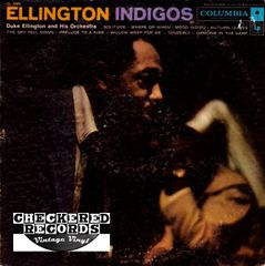 Vintage Duke Ellington And His Orchestra Ellington Indigos 1958 US Columbia ‎CL 1085 Vintage Vinyl LP Record Album