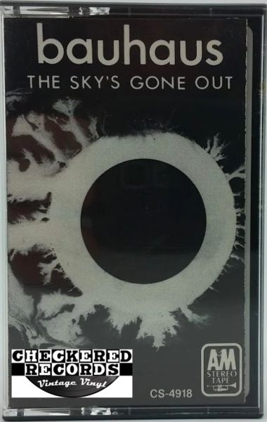 Vintage Bauhaus The Sky's Gone Out 1982 US A&M Records ‎CS-4918 Cassette Tape