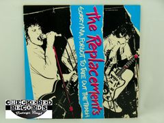 Vintage The Replacements Sorry Ma Forgot To Take Out The Trash White Label Twin Tone TTR8123 1981 NM Vintage Vinyl LP Record Album