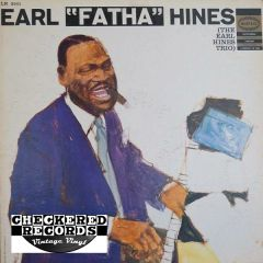 "Vintage Earl ""Fatha"" Hines The Earl Hines Trio First Year Pressing 1958 US Epic LN 3501 Vintage Vinyl LP Record Album"
