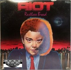 Vintage Riot Restless Breed First Year Pressing 1982 US Elektra ‎E1-60134 Vintage Vinyl LP Record Album