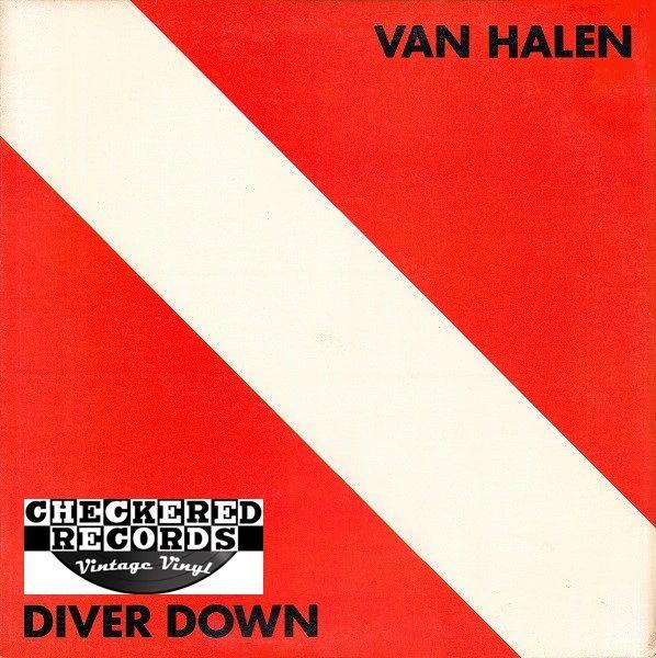 Van Halen Diver Down First Year Pressing 1982 US Warner Bros. Records BSK 3677 Vintage Vinyl Record Album