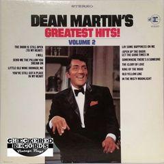 Vintage Dean Martin Dean Martin's Greatest Hits, Volume 2 1969 US Reprise Records RS 6320 Vintage Vinyl LP Record Album