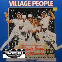 Vintage Village People Can't Stop The Music The Original Soundtrack Album First Year Pressing 1980 Casablanca NBLP 7220 Vintage Vinyl LP Record Album