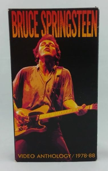 Vintage Bruce Springsteen Video Anthology 1978-88 1989 US CMV Enterprises ‎49010 Vintage VHS Video Cassette Tape