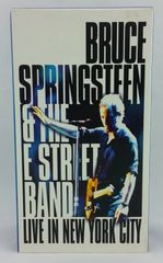 Vintage Bruce Springsteen & The E-Street Band ‎Live In New York City 2001 US Columbia ‎C2V54071 VHS Video Cassette Tape
