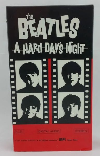Vintage The Beatles A Hard Day's Night US MPI MP 1064 VHS Video Cassette Tape