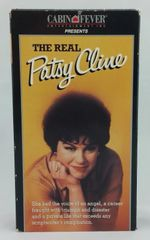 Vintage The Real Patsy Cline 1989 US Cabin Fever Entertainment CF817 VHS Video Cassette Tape