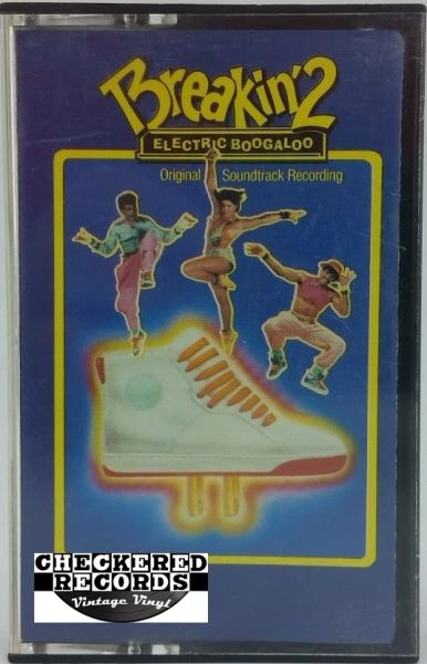 Vintage Breakin' 2 Electric Boogaloo Original Soundtrack Recording 1984 US Polydor ‎823 696-4 Y-1 Vintage Cassette Tape