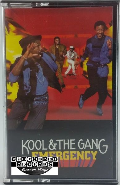 Vintage Kool & The Gang Emergency 1984 US De-Lite Records 822 943-4 M-1 Vintage Cassette Tape