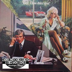 Vintage 10cc ‎How Dare You! First year Pressing 1976 US Mercury ‎SRM-1-1061 Vintage Vinyl LP Record Album