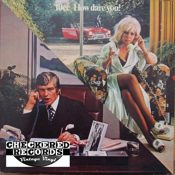 Vintage 10cc How Dare You! First year Pressing 1976 US Mercury SRM-1-1061 Vintage Vinyl LP Record Album