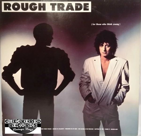 Vintage Rough Trade For Those Who Think Young First Year Pressing 1982 US The Boardwalk Entertainment Co ‎NB 33261-1 Vintage Vinyl LP Record Album