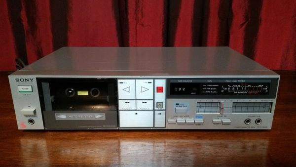 Vintage Sony TC-FX410R Single Stereo Cassette Deck