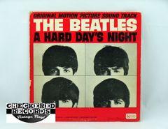 Vintage The Beatles A Hard Day's Night Capitol UAL 3366 1964 NM- Vintage Vinyl LP Record Album