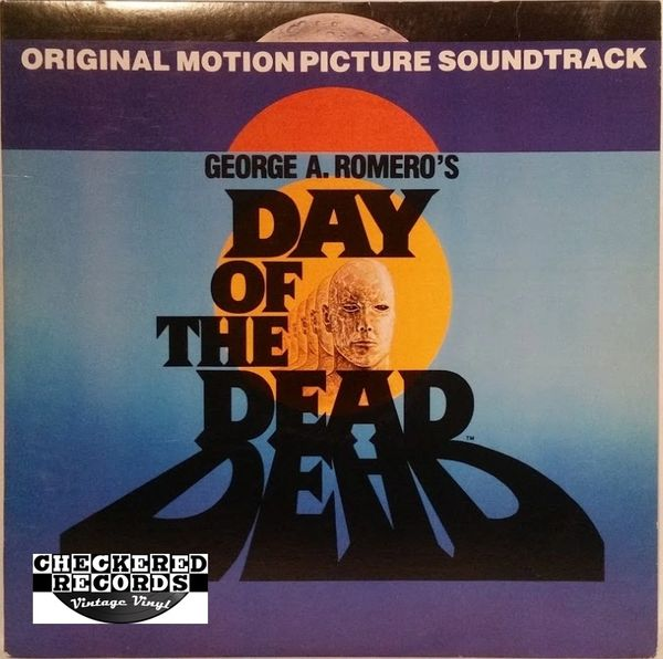 Vintage George A. Romero's Day Of The Dead Original Motion Picture Soundtrack John Harrison First Year Pressing 1985 US Saturn Records SR LP 1701 Vintage Vinyl LP Record Album