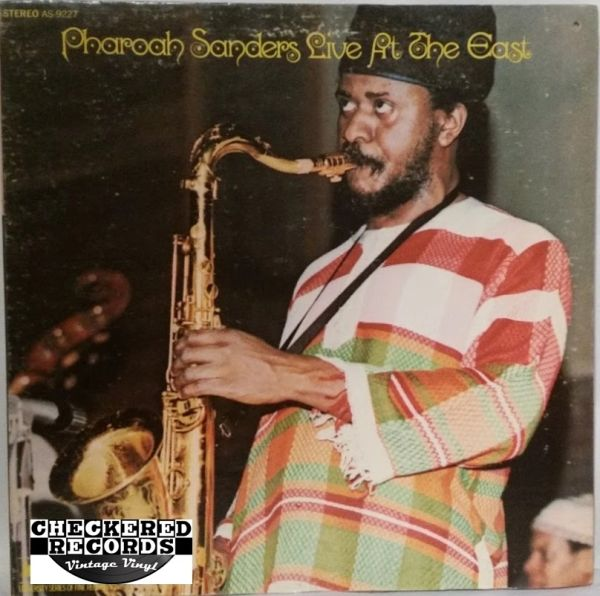 Vintage Pharoah Sanders ‎Live At The East First Year Pressing 1972 US Impulse! AS-9227 Vintage Vinyl LP Record Album