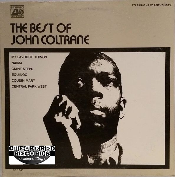 John Coltrane ‎The Best Of John Coltrane First Year Pressing 1970 US Atlantic SD 1541 Vintage Vinyl Record Album