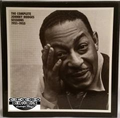 Vintage Johnny Hodges The Complete Johnny Hodges Sessions 1951 - 1955 6 Record Box Set 1989 US Mosaic Records MR6-126 Vintage Vinyl LP Record Album Set