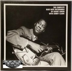 Vintage Grant Green Sonny Clark The Complete Blue Note Recordings Of Grant Green With Sonny Clark 5 Album Limited Edition Box Set 1990 Mosaic Records MR5-133 Vintage Vinyl LP Record Album Box Set