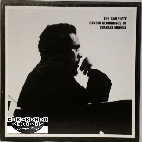 Charles Mingus The Complete Candid Recordings Of Charles Mingus 4 Album Limited Edition Box Set 1985 US Mosaic Records MR4-111 Vintage Vinyl Record Album