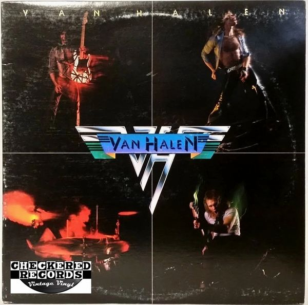 Van Halen ‎Van Halen Self Titled First Year Pressing 1978 US Warner Bros. Records ‎BSK 3075 Vintage Vinyl Record Album
